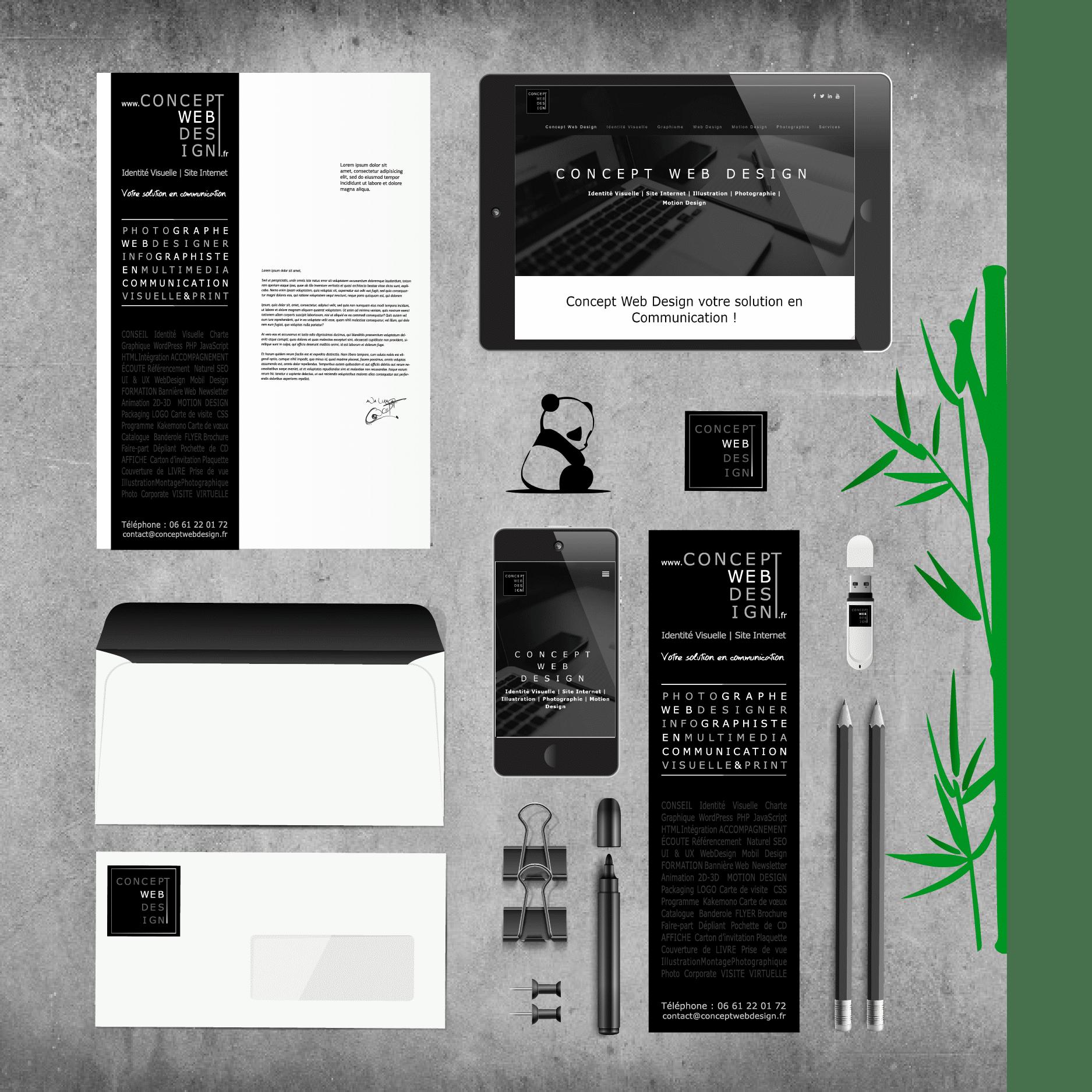 Identité visuelle de Concept Web Design