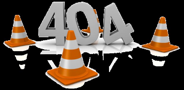Corriger les pages 404